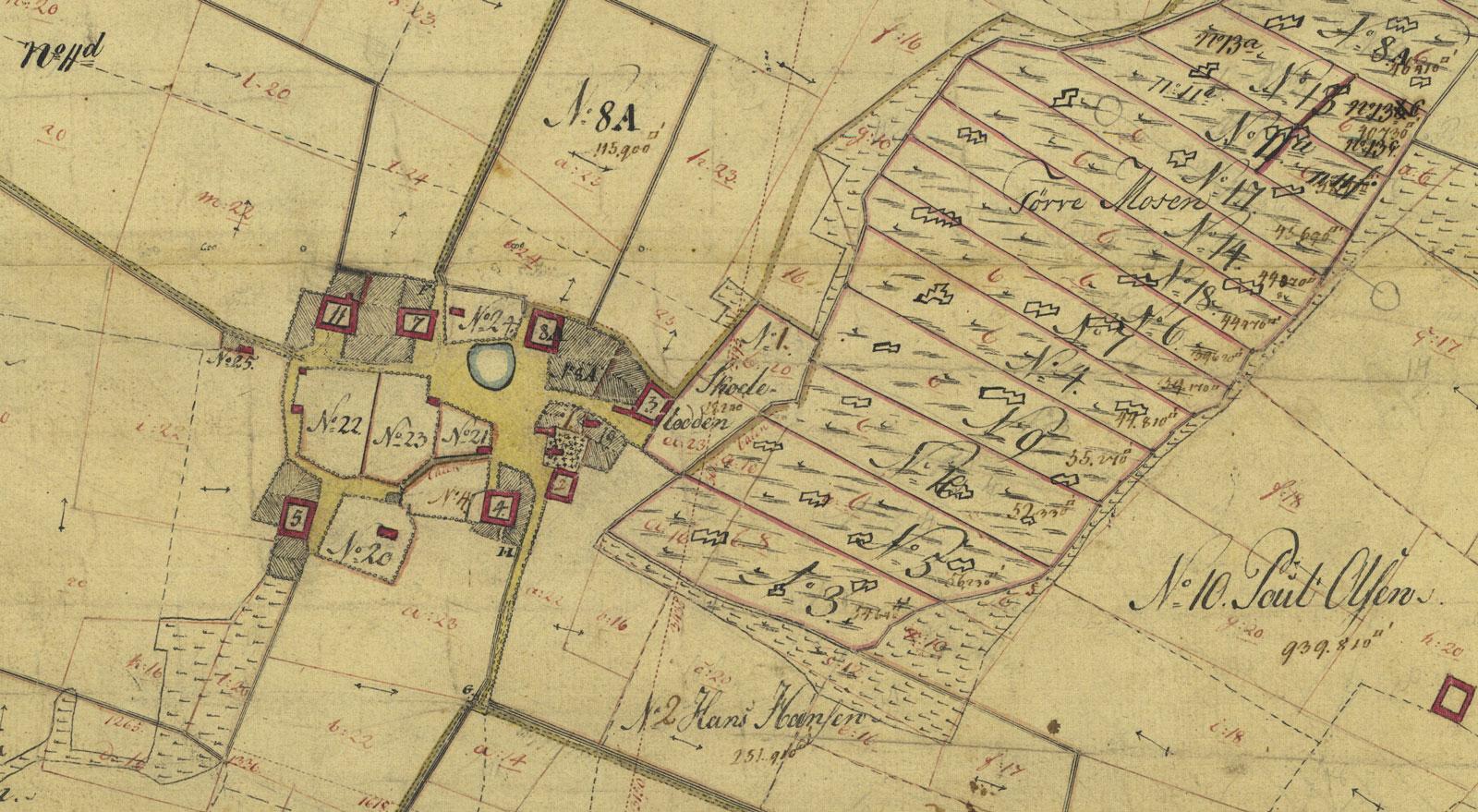 Hejninge år 1808-1860.