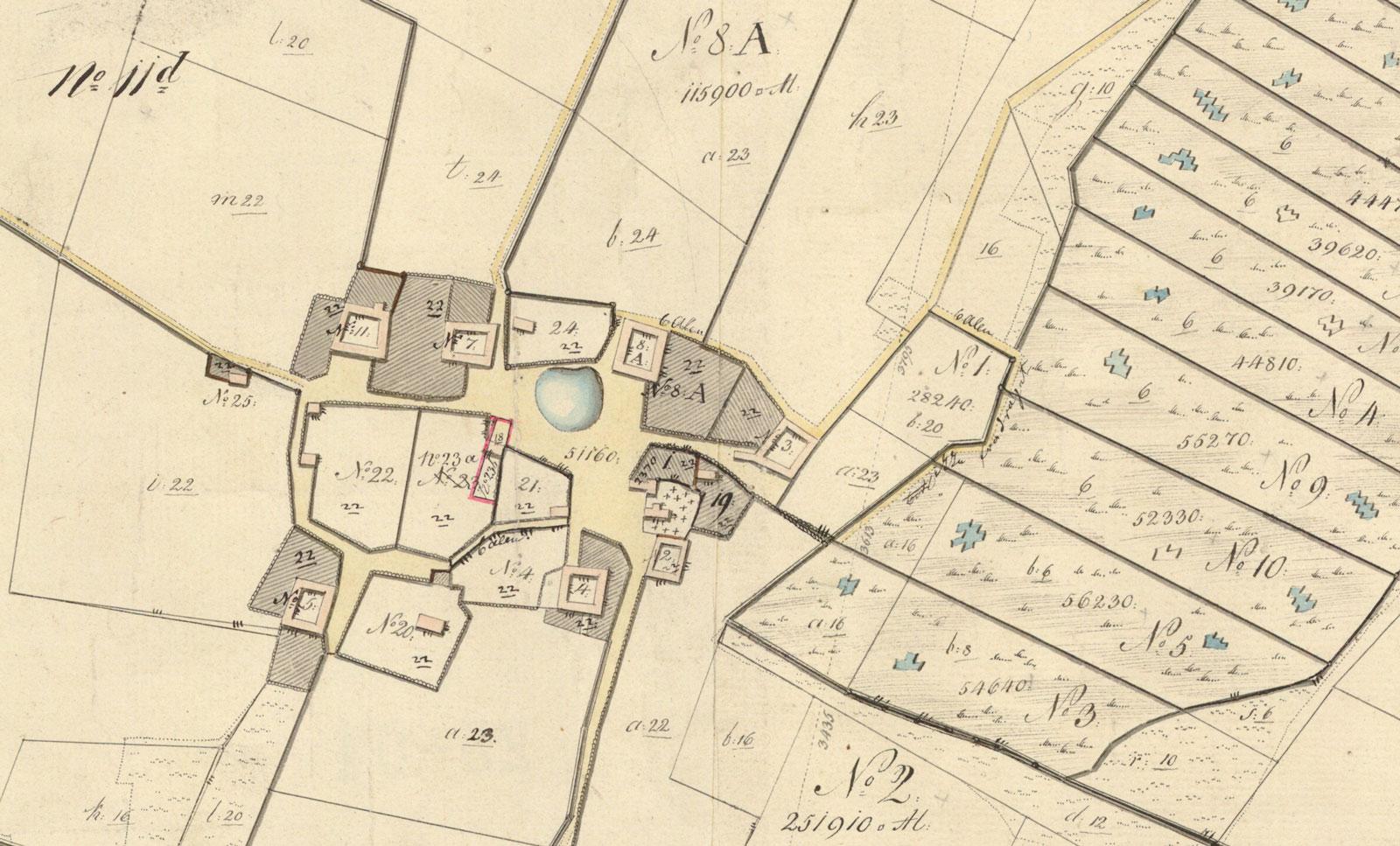 Hejninge år 1860-1871.