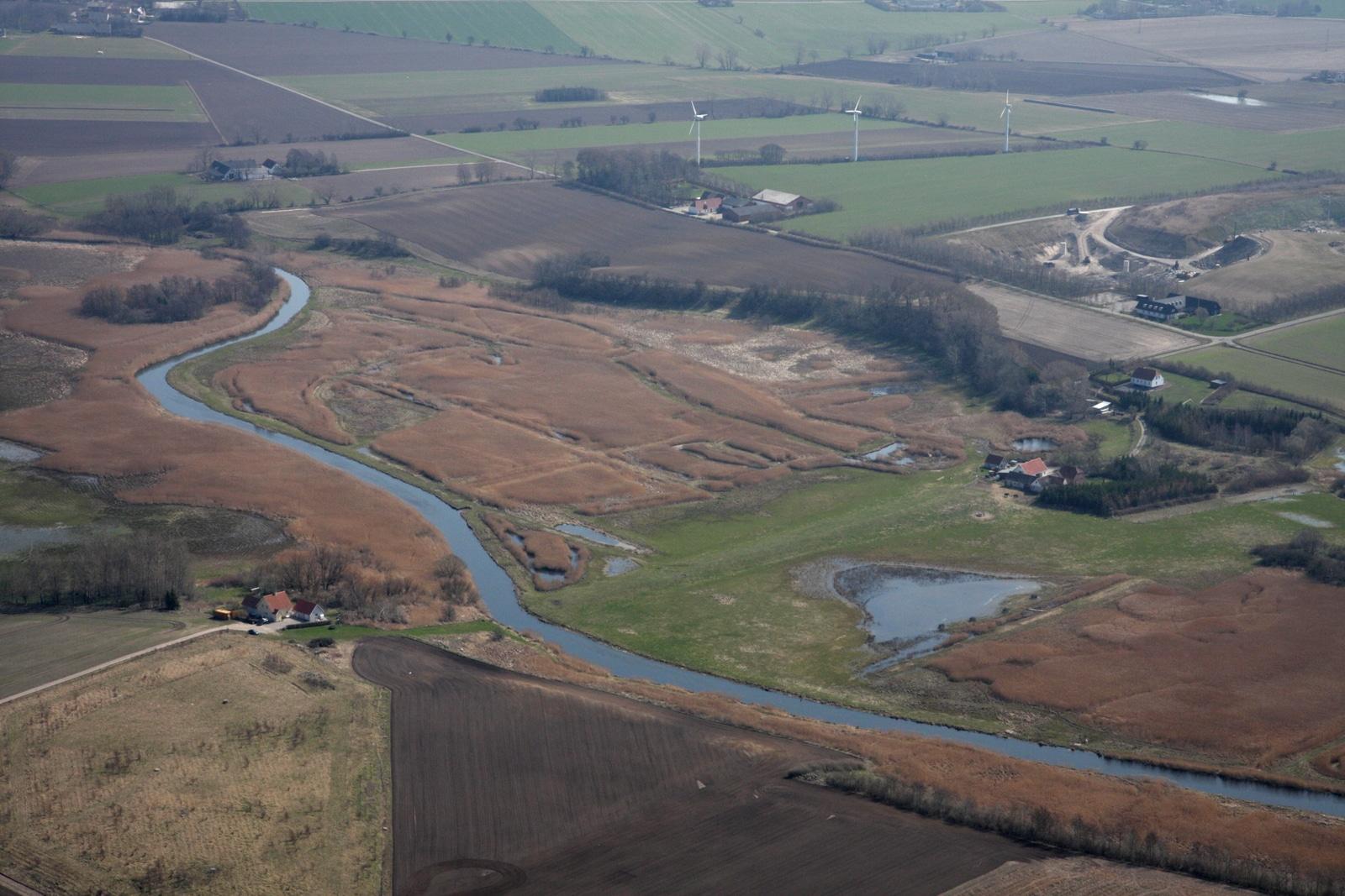 Området fotograferet fra nordvest.