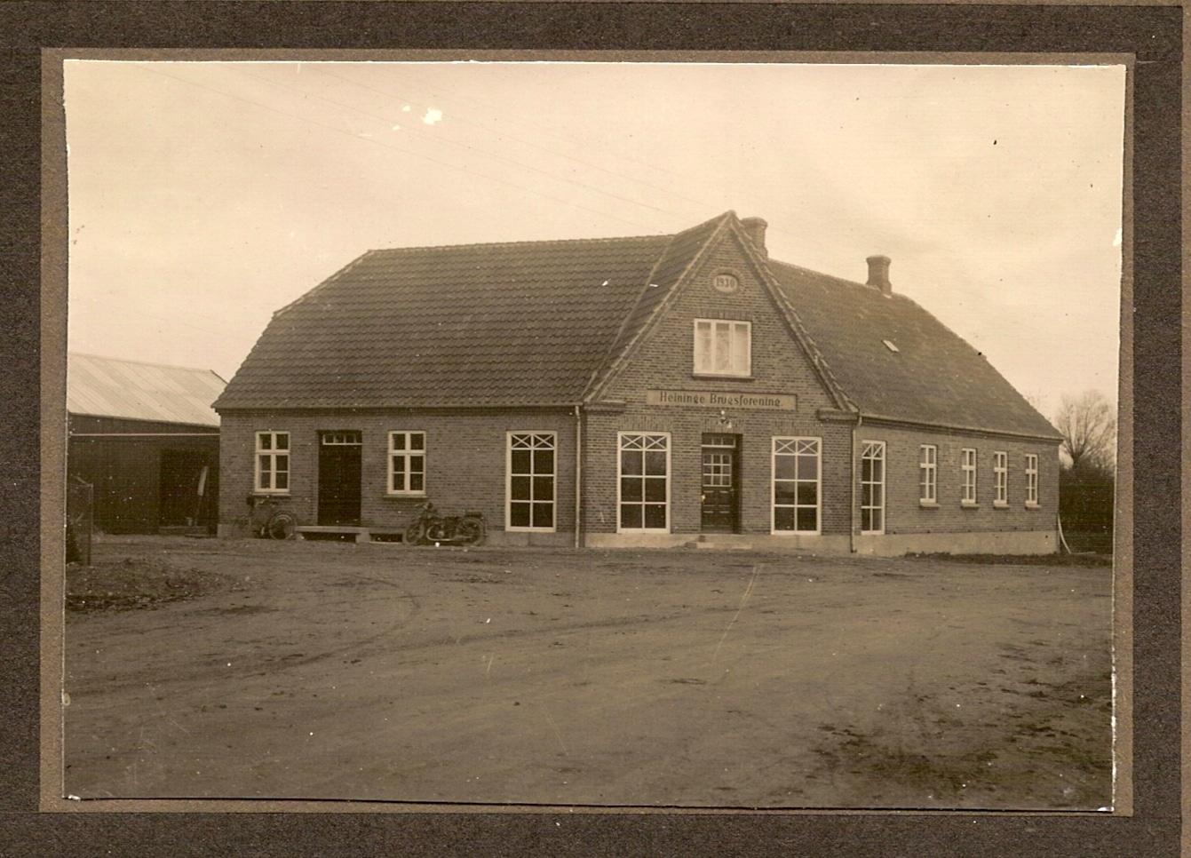 Foreningens lige indviede Bygning.